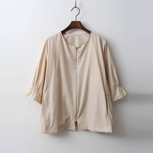 Darcy Cotton Jacket - 반팔