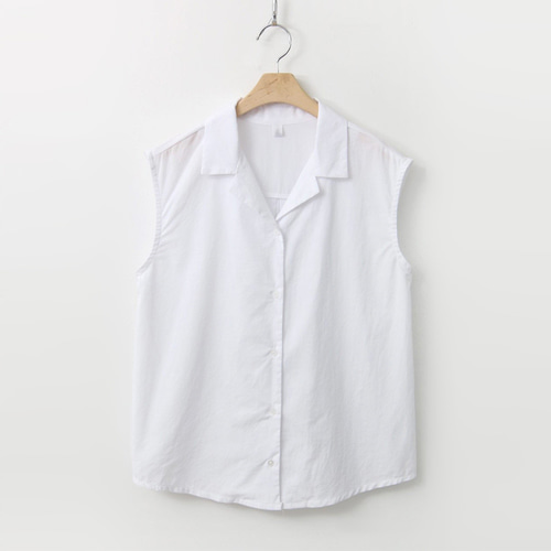 Cotton Basic Shirts - 민소매
