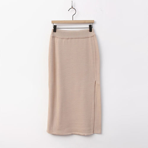 Simple Wrap Knit Skirt