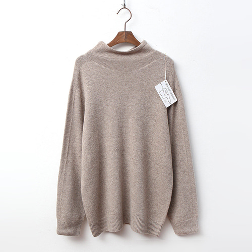 Laine Cashmere N Wool Most Turtleneck