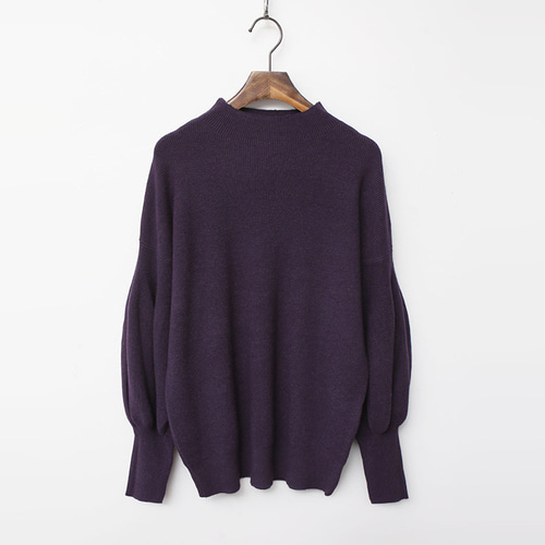 Cashmere N Wool Puff Knit