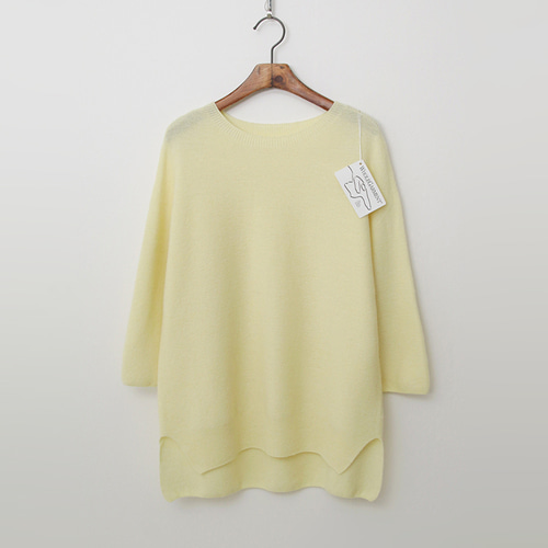 Laine Wool N Cashmere Sweater - 9부소매