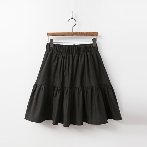 Cotton Cancan Mini Skirt