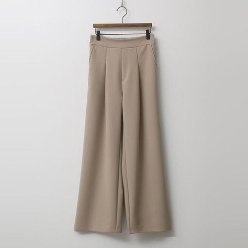 Formal Pintuck Wide Pants