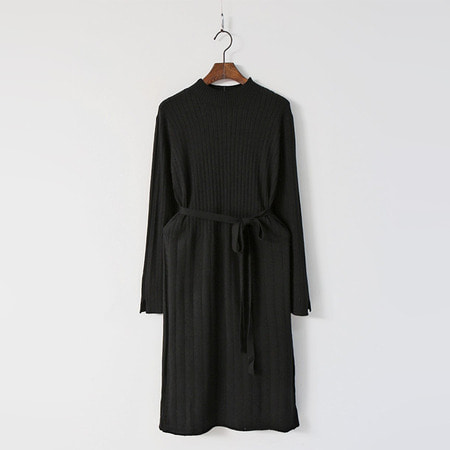 Wool Golgi Knit Dress