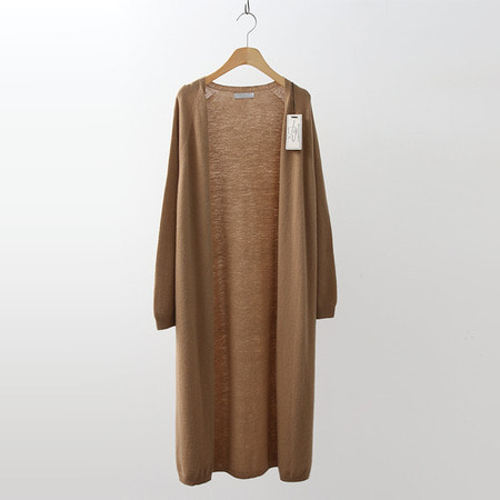Hoega Cashmere Wool Long Cardigan