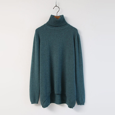 Wool N Cashmere Turtleneck Sweater