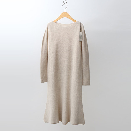 Hoega Cashmere Wool Flare Dress