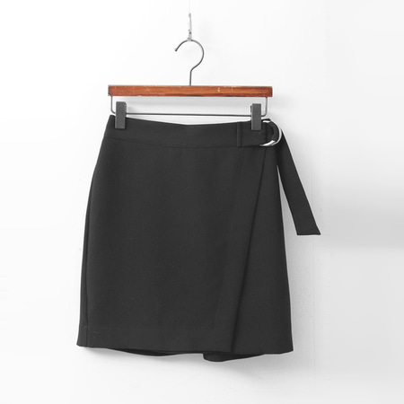 Belt Mini Skirt