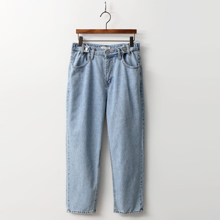 Pipe Loose Straight Jeans