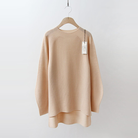 Hoega Wool Simple Unbal Sweater