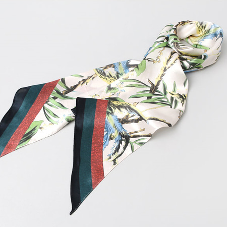 Silk Long Scarf - One