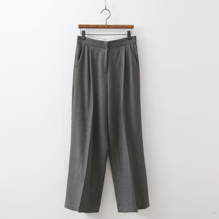 Herringbone Wide Pants
