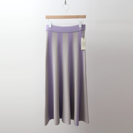 Hoega Wool Combo Long Skirt