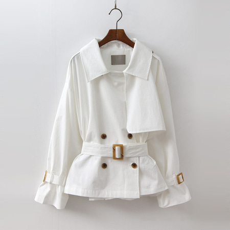 Heaven Trench Short Jacket
