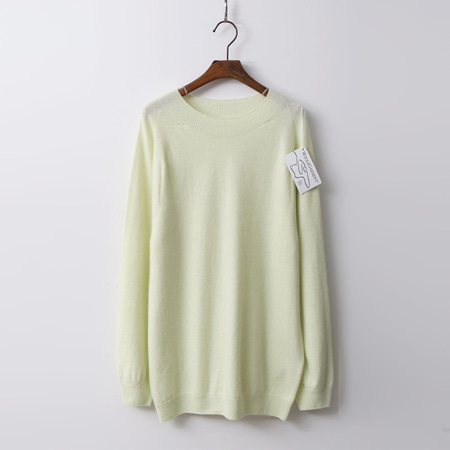 Hoega Wool N Cashmere Round Sweater
