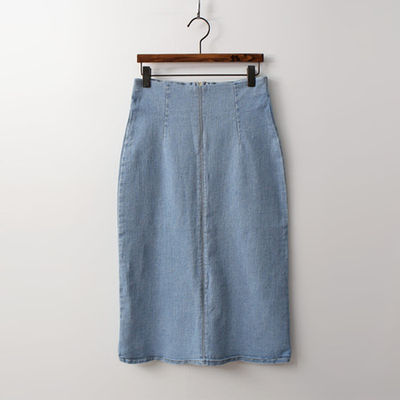Denim Stitch Skirt