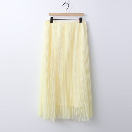 Princess Cha Pleats Long Skirt