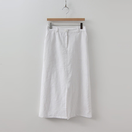 Linen Eve Long Skirt
