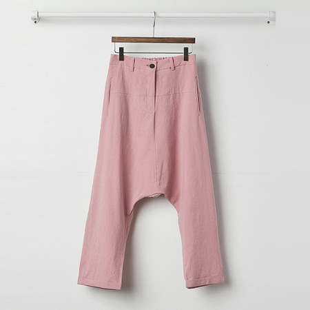 Linen Edit Baggy Pants