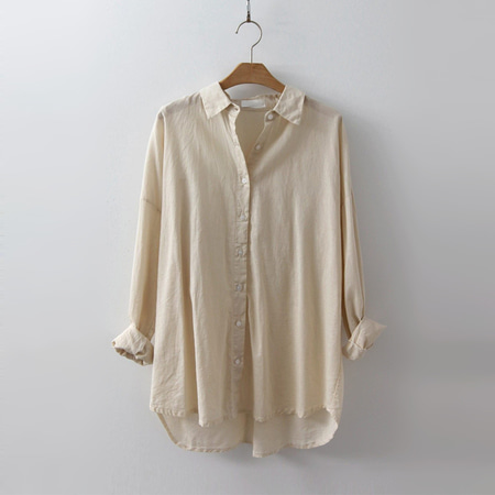 Linen Unbal Shirts