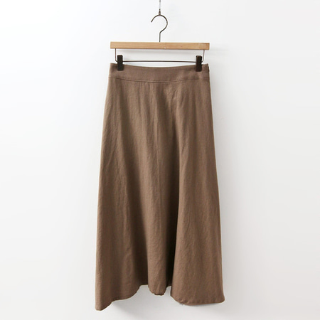 Linen Full Long Skirt