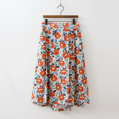 Cotton Flower Full Skirt
