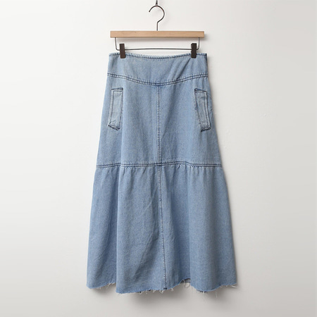 Janet Denim Long Skirt