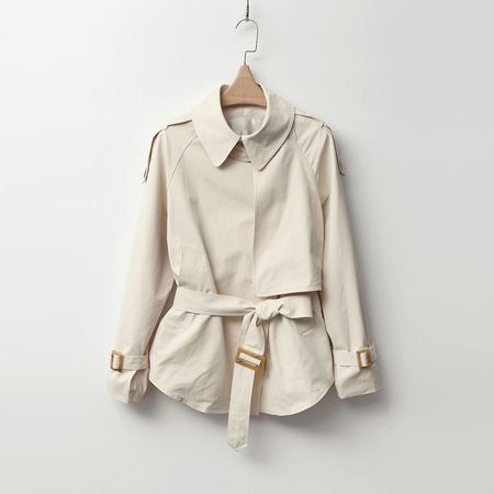 Autumn Trench Short Jacket