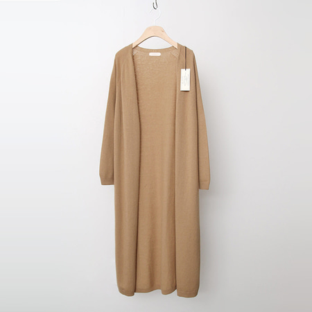 Laine Cashmere Wool Long Cardigan