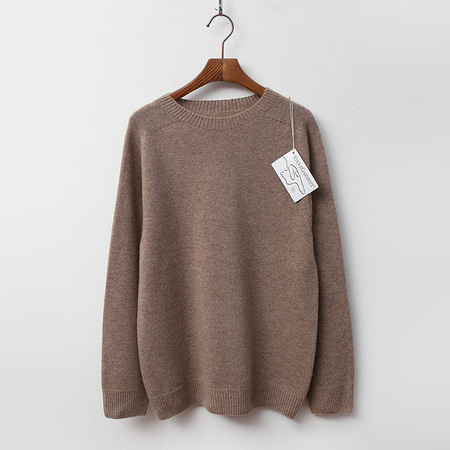 Laine Cashmere N Wool Round Sweater