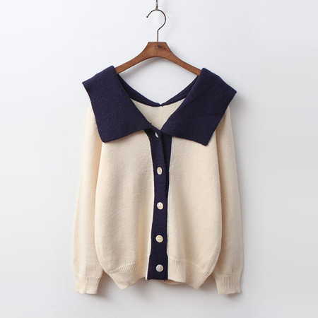 Sailor Combo Cardigan