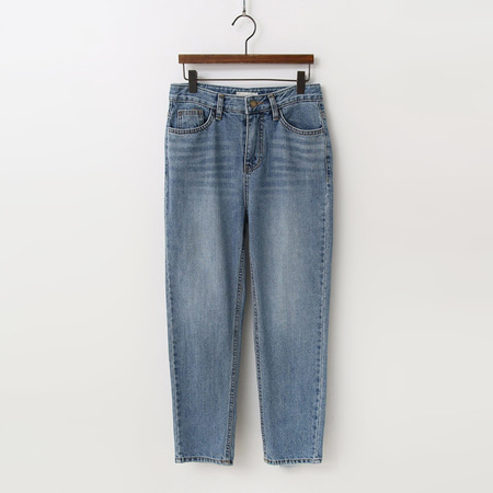 Winter Straight Crop Jeans - 기모안감
