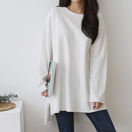 Casual Boxy Long Tee