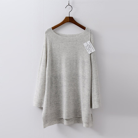 Laine Wool N Cashmere Boatneck Sweater