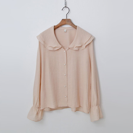 Frill Sailor Blouse