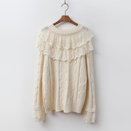 Lace Twist Knit