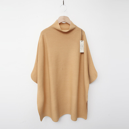 Laine Wool Cashmere Pcho Sweater