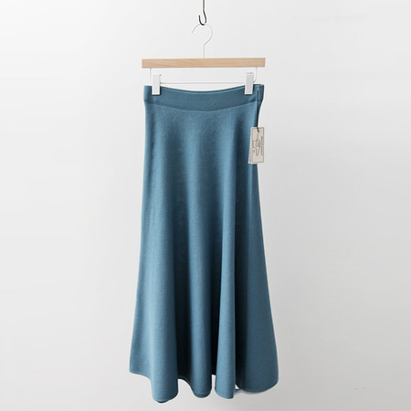 Laine Wool Long Skirt