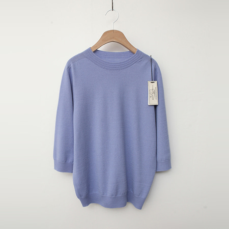 Laine Wool Sweater - 반팔