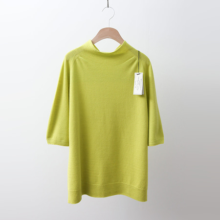 Laine Wool Turtleneck Sweater - 반팔