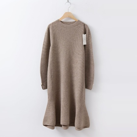Hoega Cashmere Wool Pearl Dress