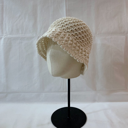 Cotton Knit Bucket Hat