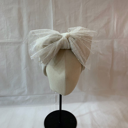 Dot Cha Ribbon Hairband