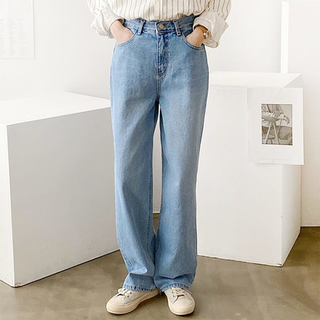 Loose Long Wide Jeans