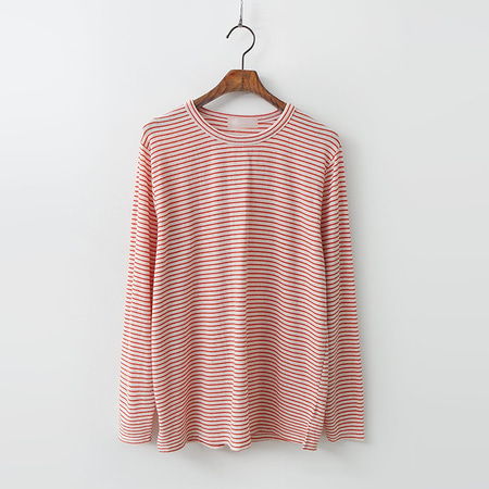 Linen Cotton Stripe Tee