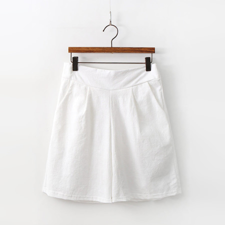 Linen Cotton Four Shorts