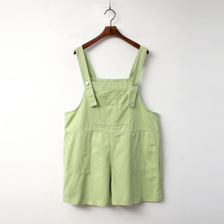 Color Shorts Overalls