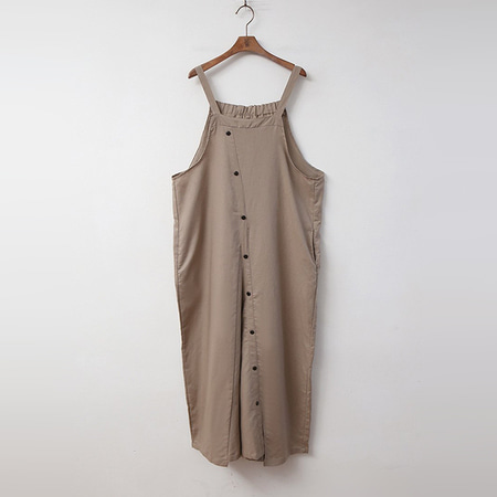 Linen Button Jumpsuit