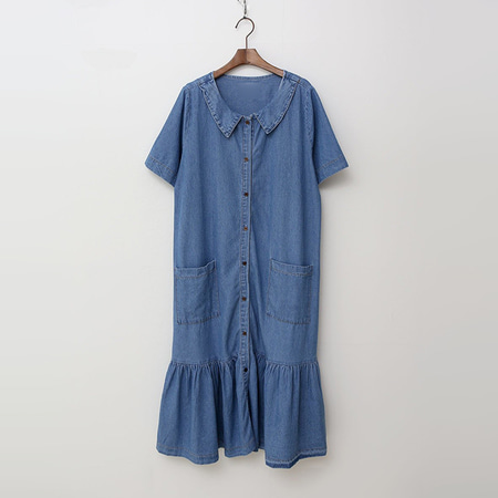 Bulbul Denim Long Dress